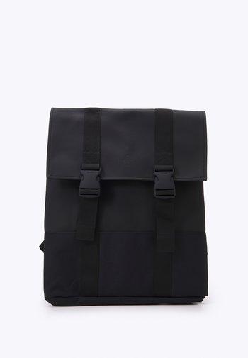 BUCKLE BAG UNISEX - Rucksack - black