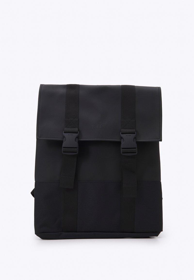 Rains - BUCKLE BAG UNISEX - Mochila - black