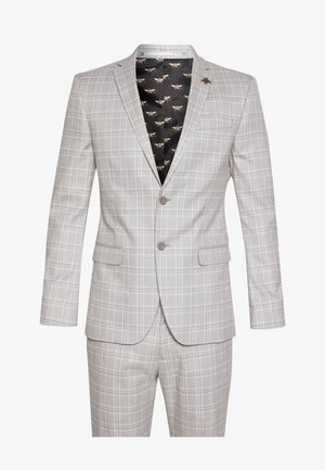 TONAL SUIT - Kostym - grey
