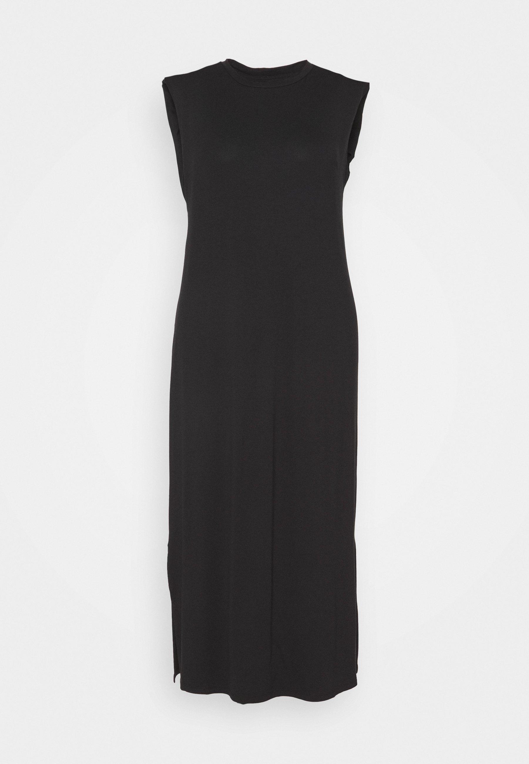 Women SHOULDER PAD DRESS - Maxi dress