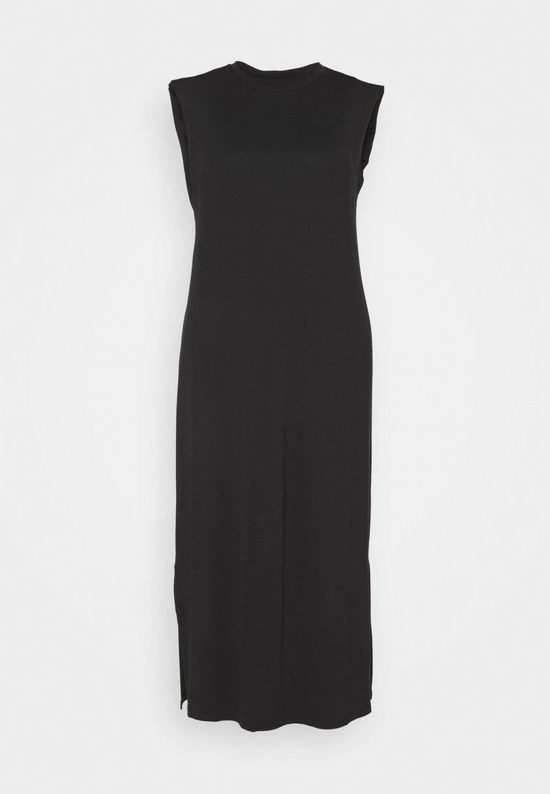 CAPSULE by Simply Be - SHOULDER PAD DRESS - Maxi dress - black