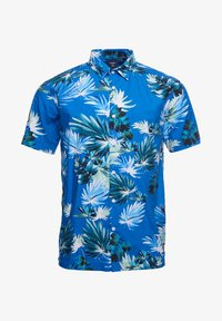 Superdry - HAWAIIAN  - Skjorta - brush palm blue - 3