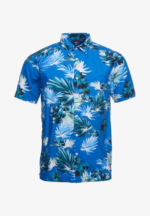 HAWAIIAN  - Camicia - brush palm blue
