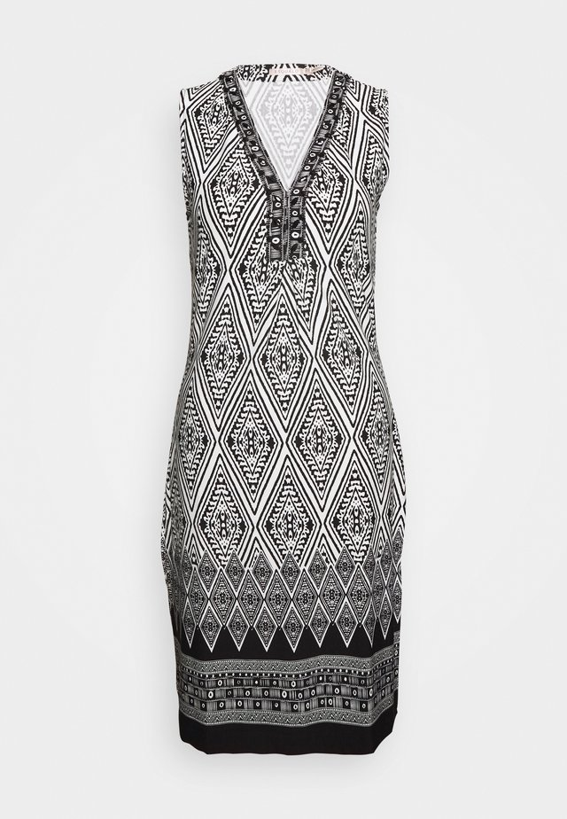 DRESS IKAT PRINT - Kotelomekko - black