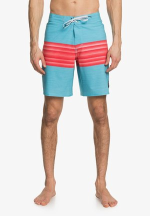 HIGHLINE SIX CHANNEL  - Swimming shorts - pacific blue