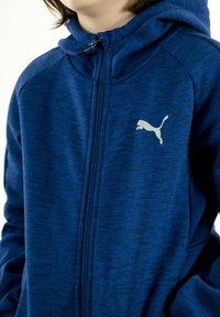 Puma - Zip-up hoodie - bleu - 3