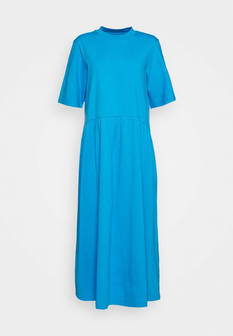 Monki - AGNETE DRESS - Maxikjole - blue