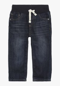 GAP - TODDLER BOY SLIM - Slim fit jeans - dark wash indigo - 0