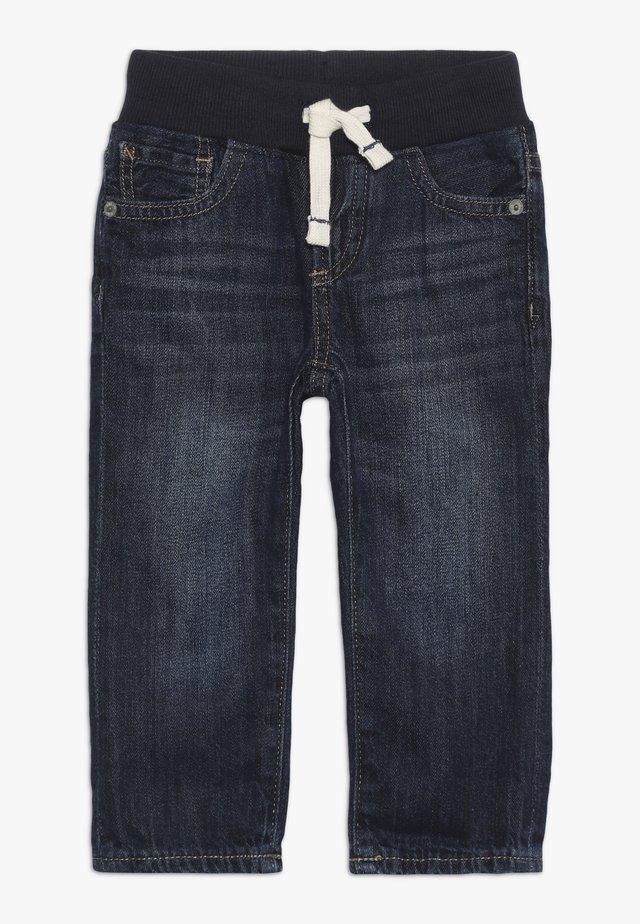 TODDLER BOY SLIM - Slim fit jeans - dark wash indigo