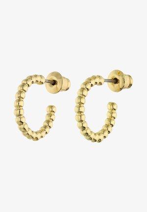CREOLE IN GLANZ-OPTIK IM ANGESAGTEN DESIGN - Earrings - goldfarben