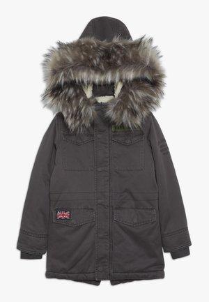 ELCANO - Winter coat - washed black