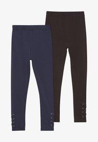 Friboo - 2 PACK - Legging - darkblue/black - 3