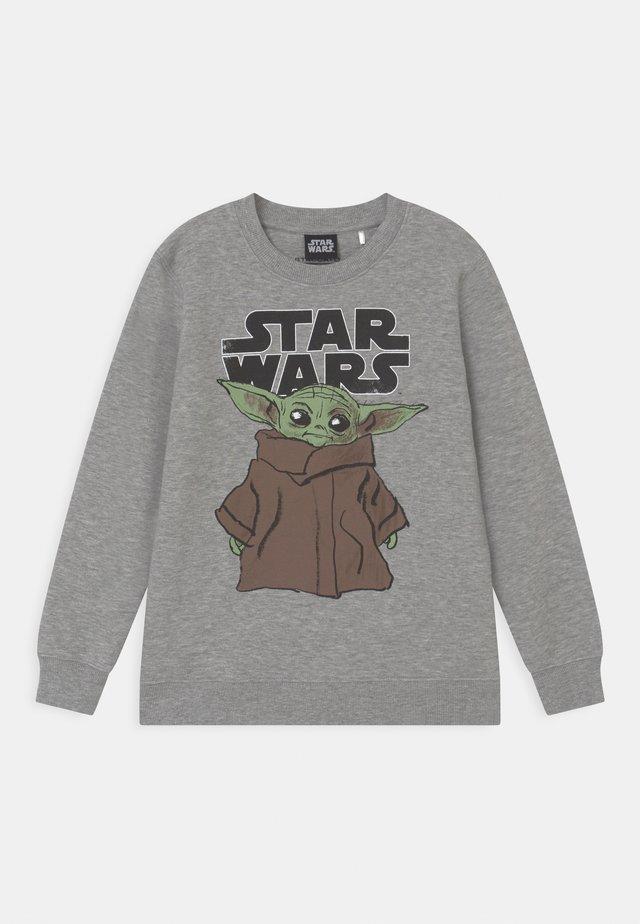 STAR WARS YODA THE CHILD - Sweatshirt - dark stone melange