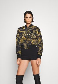 Versace Jeans Couture - OUTERWEAR - Bomber Jacket - black/gold - 0