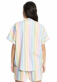 Quiksilver - PACIFIC DAZE  - Button-down blouse - sherbet stripe peach - 2
