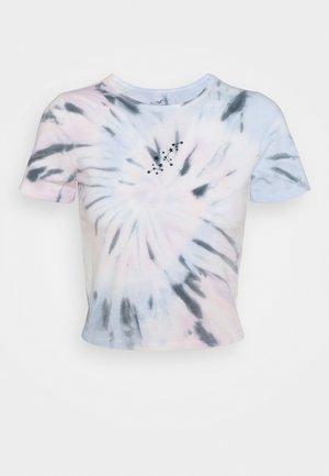 VINTAGE BABY TEE - T-shirt z nadrukiem - spiral wash