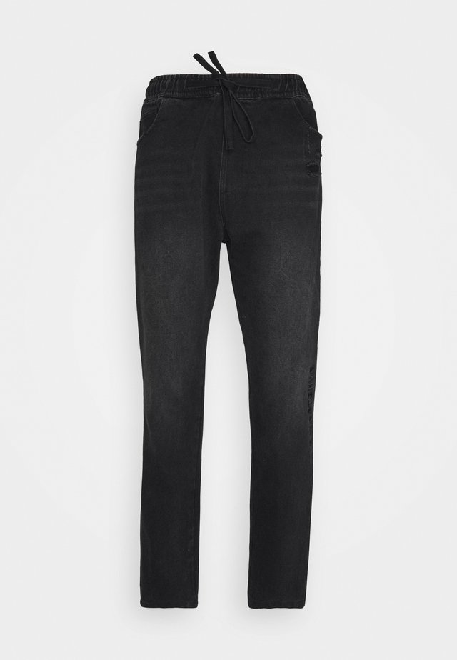 PANTS PAXTON UNISEX - Džíny Relaxed Fit - black