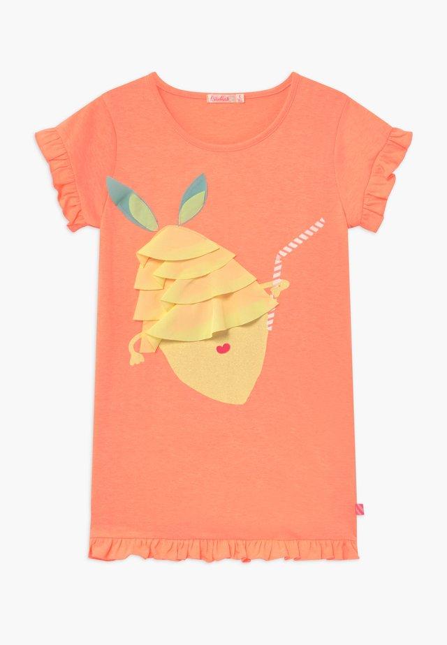 Vestito di maglina - peach