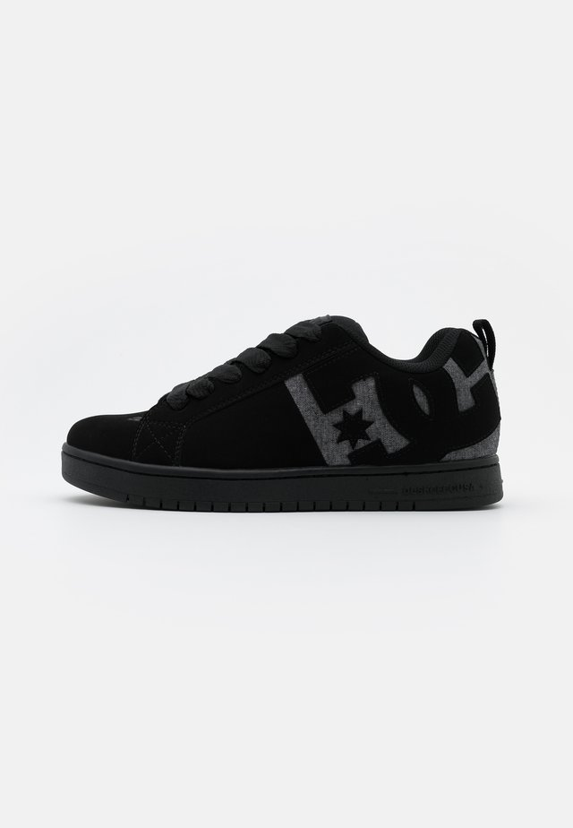 COURT GRAFFIK - Skatesko - black/heather grey