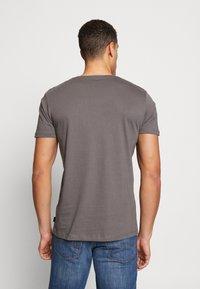 Esprit - 2 PACK - Basic T-shirt - dark grey - 2