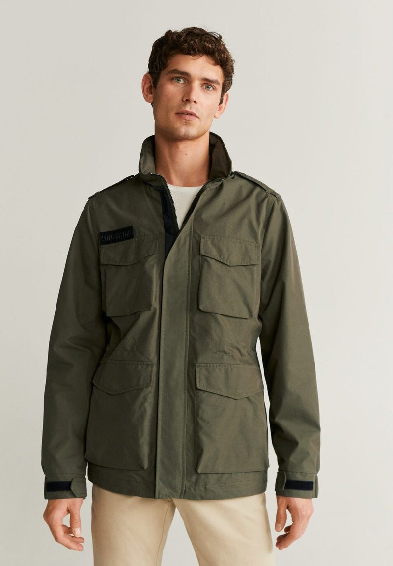 Mango - ARMY - Light jacket - khaki