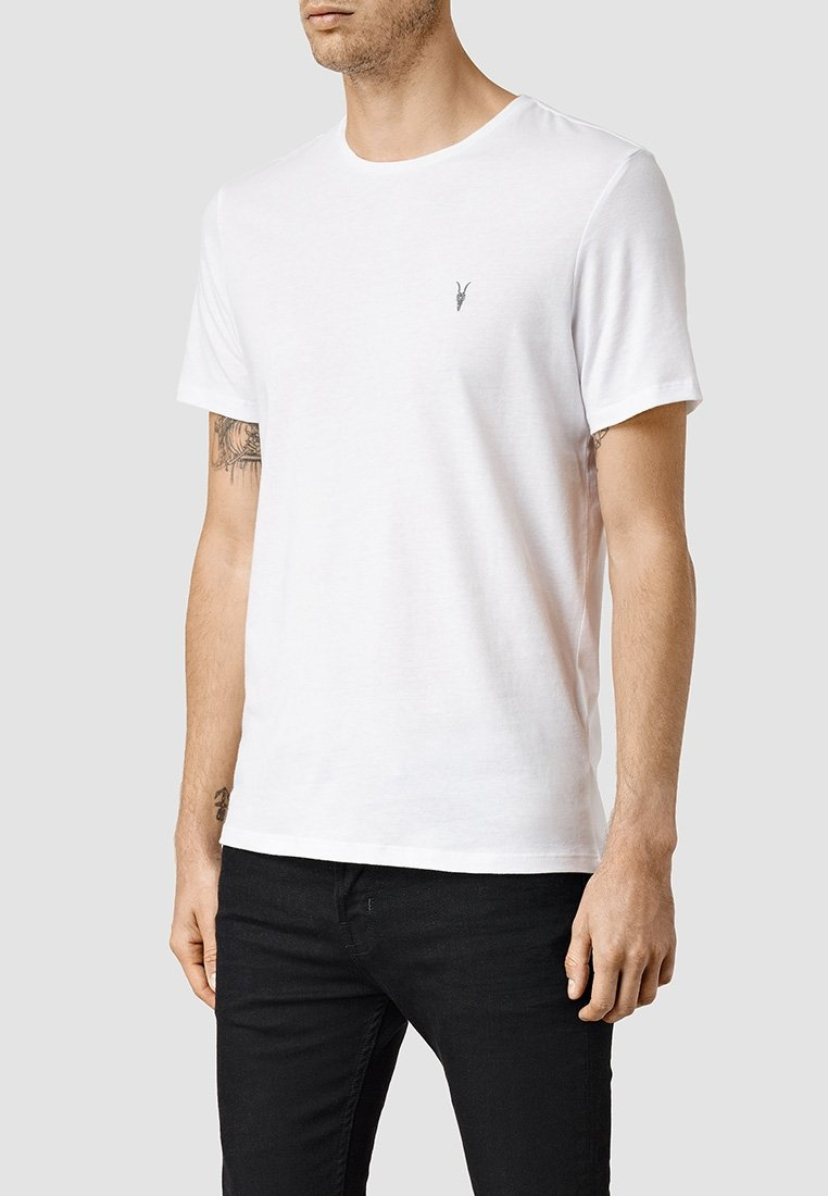 AllSaints - BRACE - Basic T-shirt - optic white