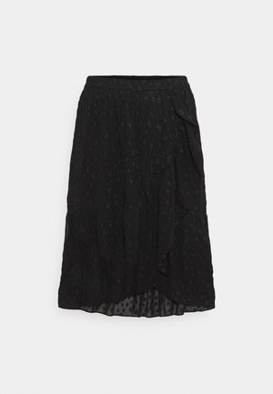 PCPERSILLA  - A-line skirt - black