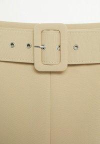 Mango - PENCIL - A-line skirt - beige - 6