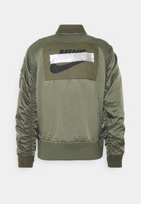 Nike Sportswear - PUNK BOMBER JACKET - Giubbotto Bomber - twilight marsh/electro orange - 1
