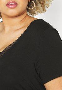 Anna Field Curvy - T-shirt basique - black - 5