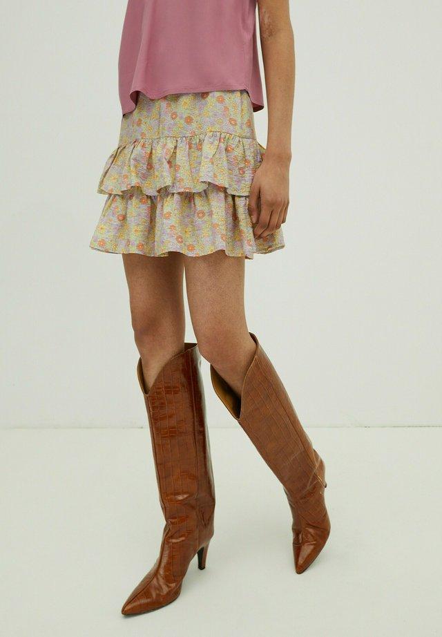 A-line skirt - mischfarben