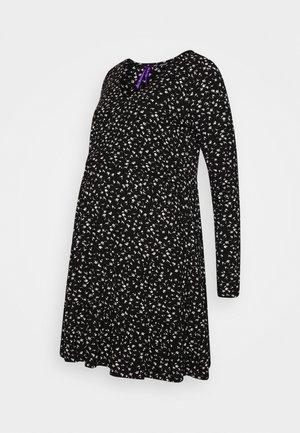 SIMONA - Jersey dress - black
