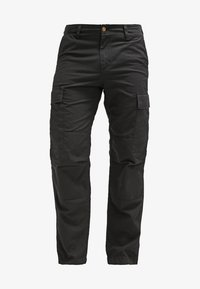 PANT COLUMBIA - Cargo trousers - black rinsed