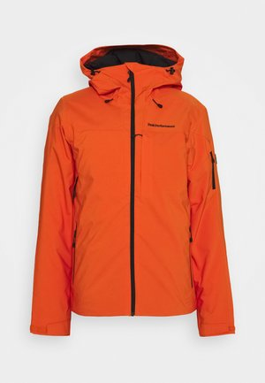 MAROON JACKET - Ski jacket - orange altitude