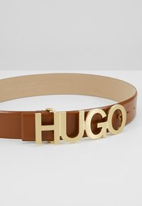 HUGO - ZULA BELT  - Ceinture - cognac - 4