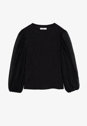 VELASCO - Long sleeved top - black