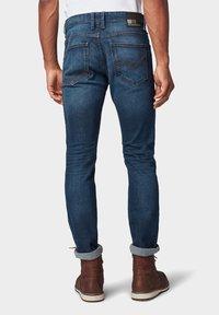 TOM TAILOR DENIM - Slim fit jeans - dark blue denim - 2