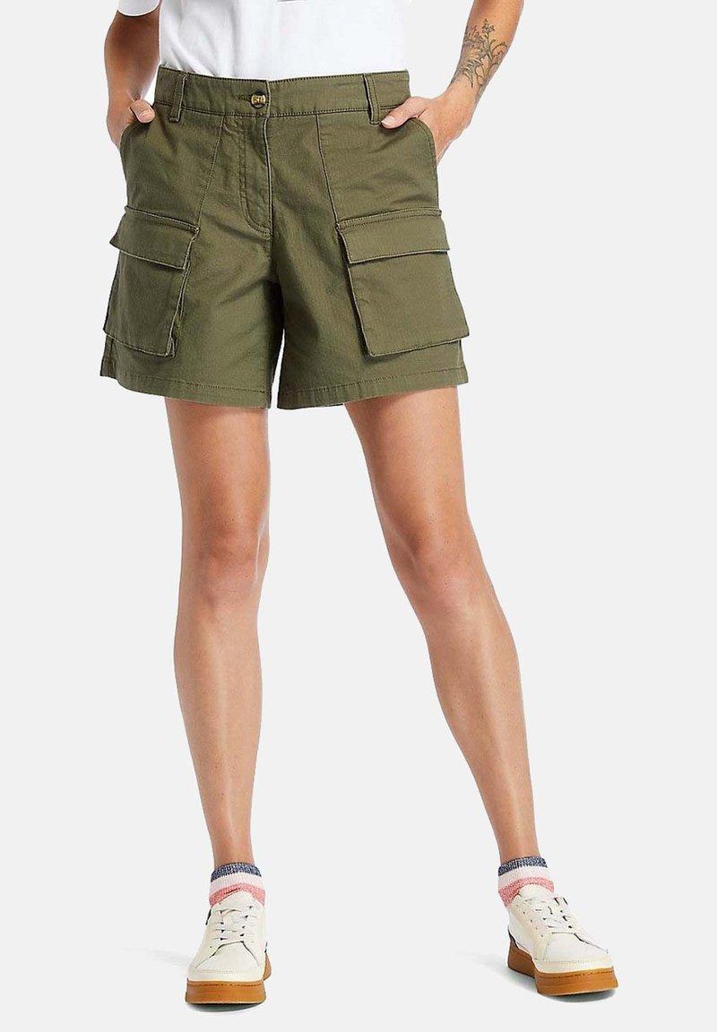Timberland - Shorts - grape leaf