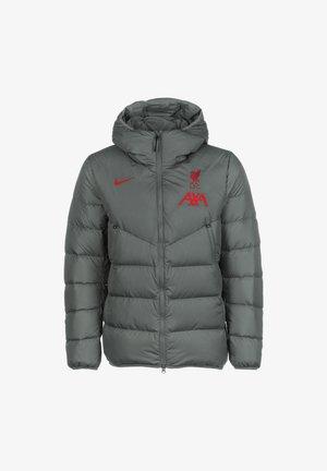 Winter jacket - smoke grey gym red
