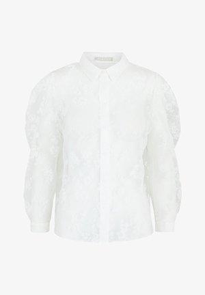 Button-down blouse - bright white