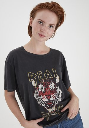 PXJENNY  - T-shirt print - black beauty