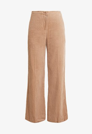 CAREN TROUSERS - Kalhoty - nougat khaki