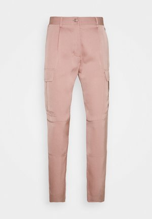 SOFT PANT - Cargo trousers - rose
