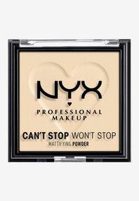 Nyx Professional Makeup - CAN'T STOP WON'T STOP MATTIFYING POWDER - Poudre - 02 light - 1