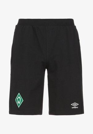 SV WERDER BREMEN TRAVEL  - Pantaloncini sportivi - black