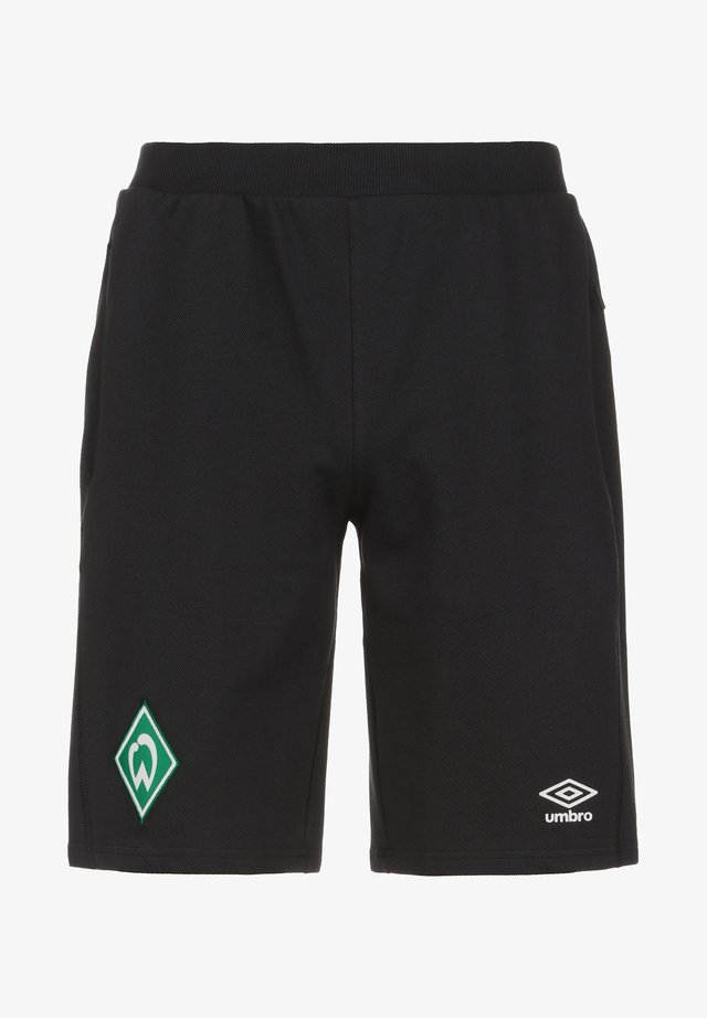 SV WERDER BREMEN TRAVEL  - Sports shorts - black