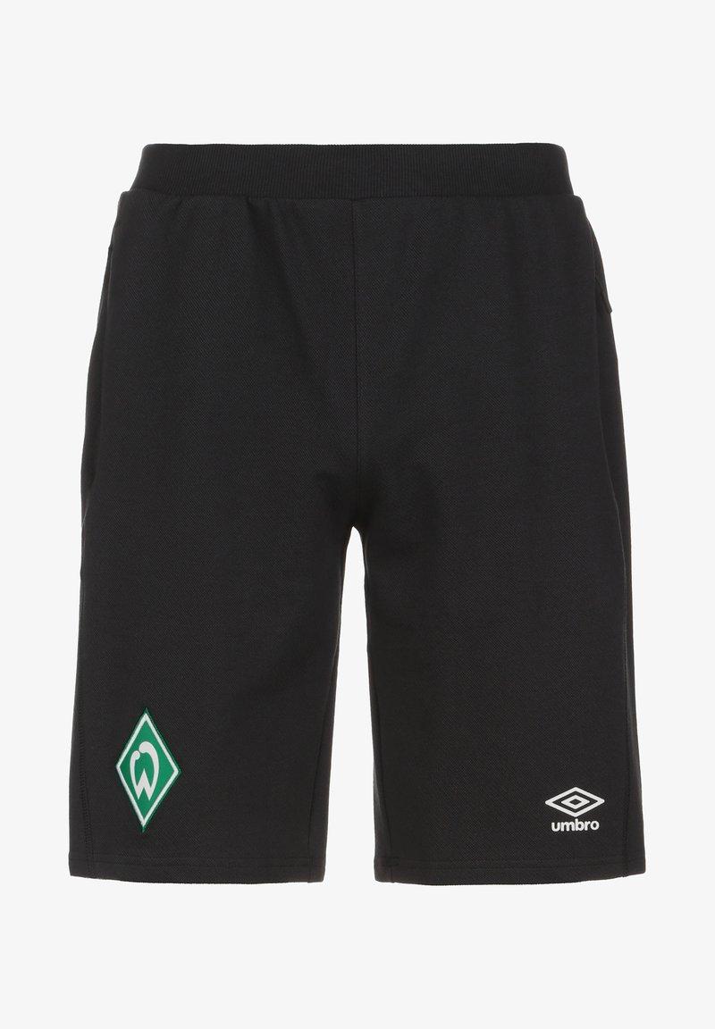 Umbro - SV WERDER BREMEN TRAVEL  - Sports shorts - black