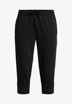 3/4 sports trousers - black/white