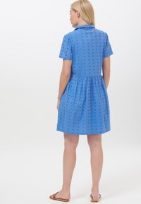 Sugarhill Brighton - KEELEY BRODERIE - Shirt dress - blue - 2