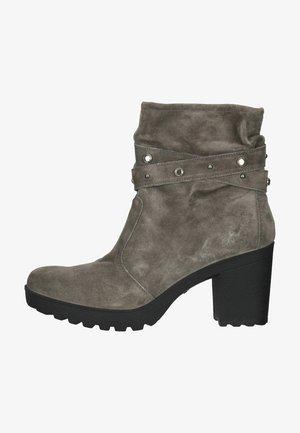 STIEFELETTE - Korte laarzen - dunkelgrau/grau